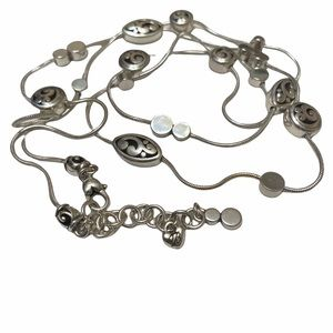 Brighton Contempo Etched Long Chain Necklace